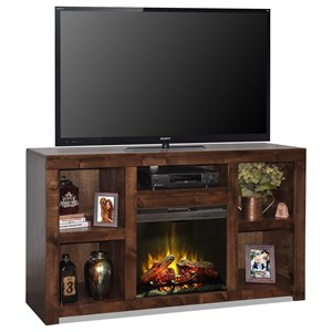 "Legends Furniture Sausalito 65"" Fireplace Console"