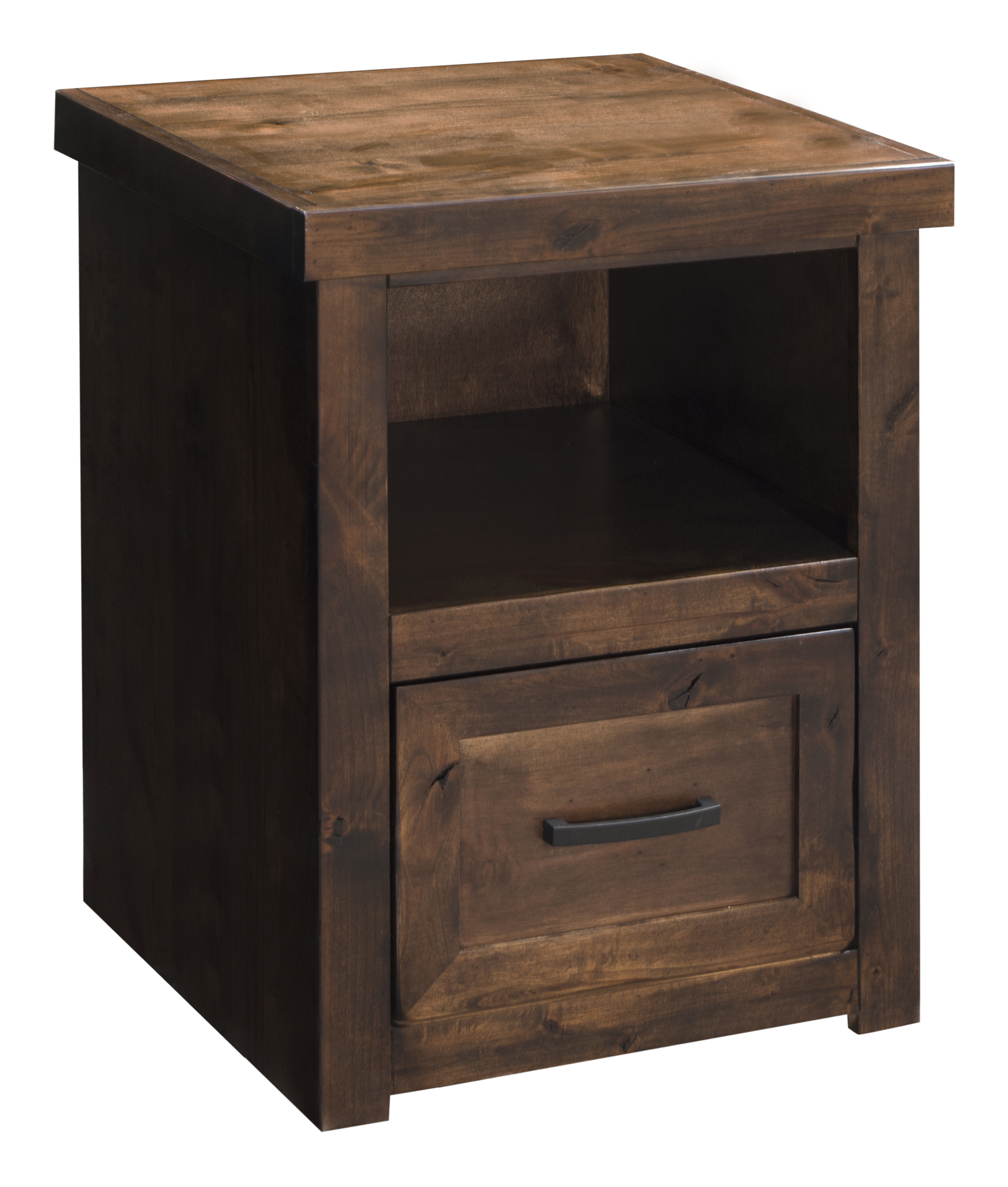 Vendor 1356 Sausalito Collection One Drawer File Cabinet - Item Number: SL6805-WKY