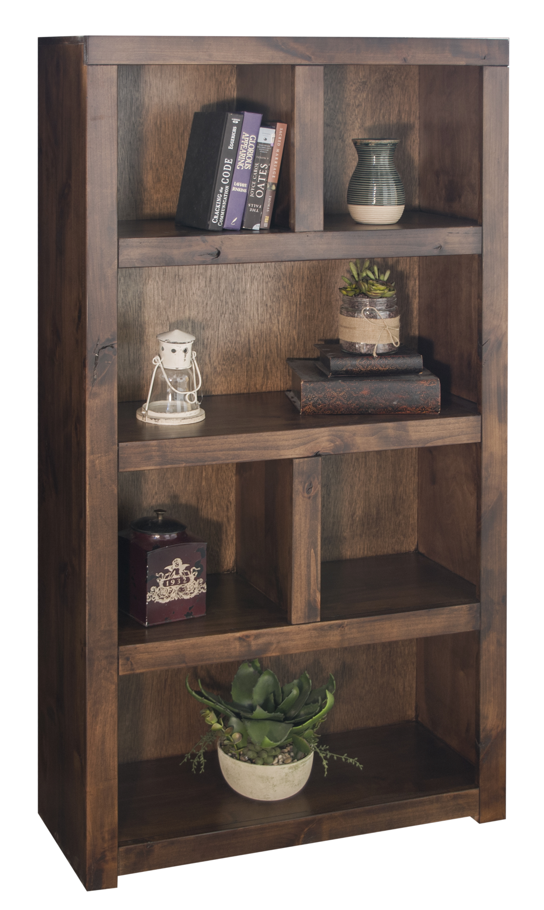 "Vendor 1356 Sausalito Collection 64"" Bookcase - Item Number: SL6920-WKY"
