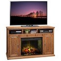 "Legends Furniture Scottsdale 62"" Fireplace Media Center - Item Number: SD5101.RST"
