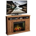 "Vendor 1356 Scottsdale 56"" Corner Fireplace Media Center - Item Number: SD5102.RST"
