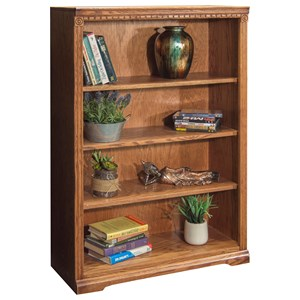 Legends Furniture Scottsdale Bookcase with 3 adj. Shelves