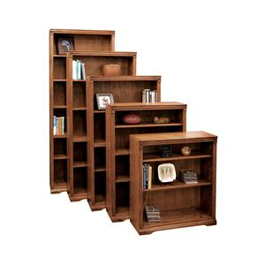 Vendor 1356 Scottsdale Bookcase with 1 Fixed & 4 adj. Shelves