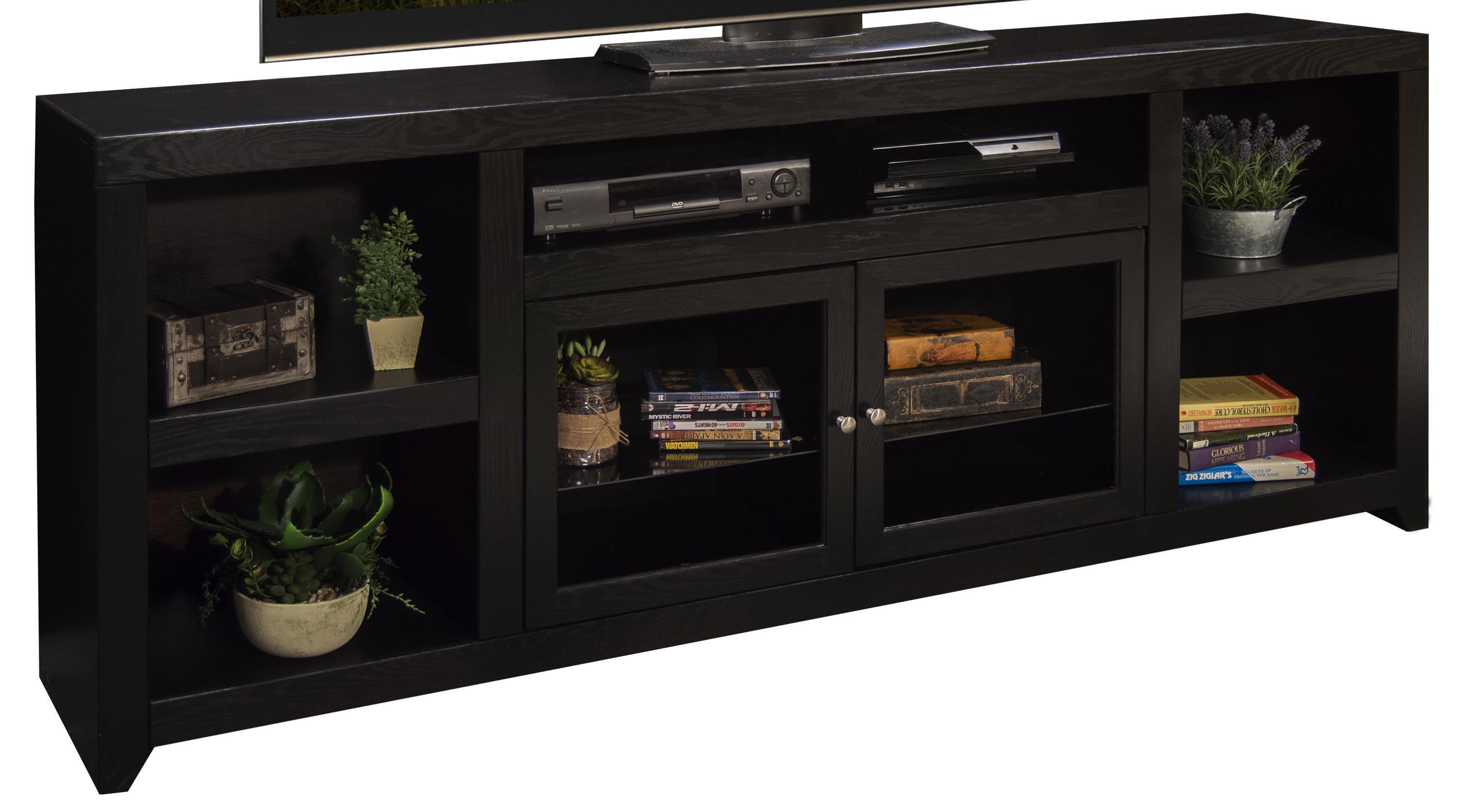 """Legends Furniture Skyline 85"""" TV Console - Item Number: SK1585-MOC"""