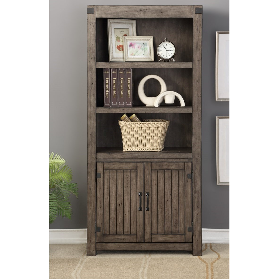 Storehouse 2 door bookcase