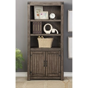 Legends Furniture Storehouse Collection Storehouse 2 Door Bookcase