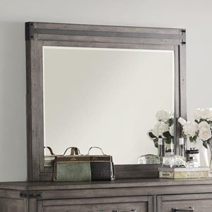 Legends Furniture Storehouse Collection Storehouse Mirror with Wood Frame