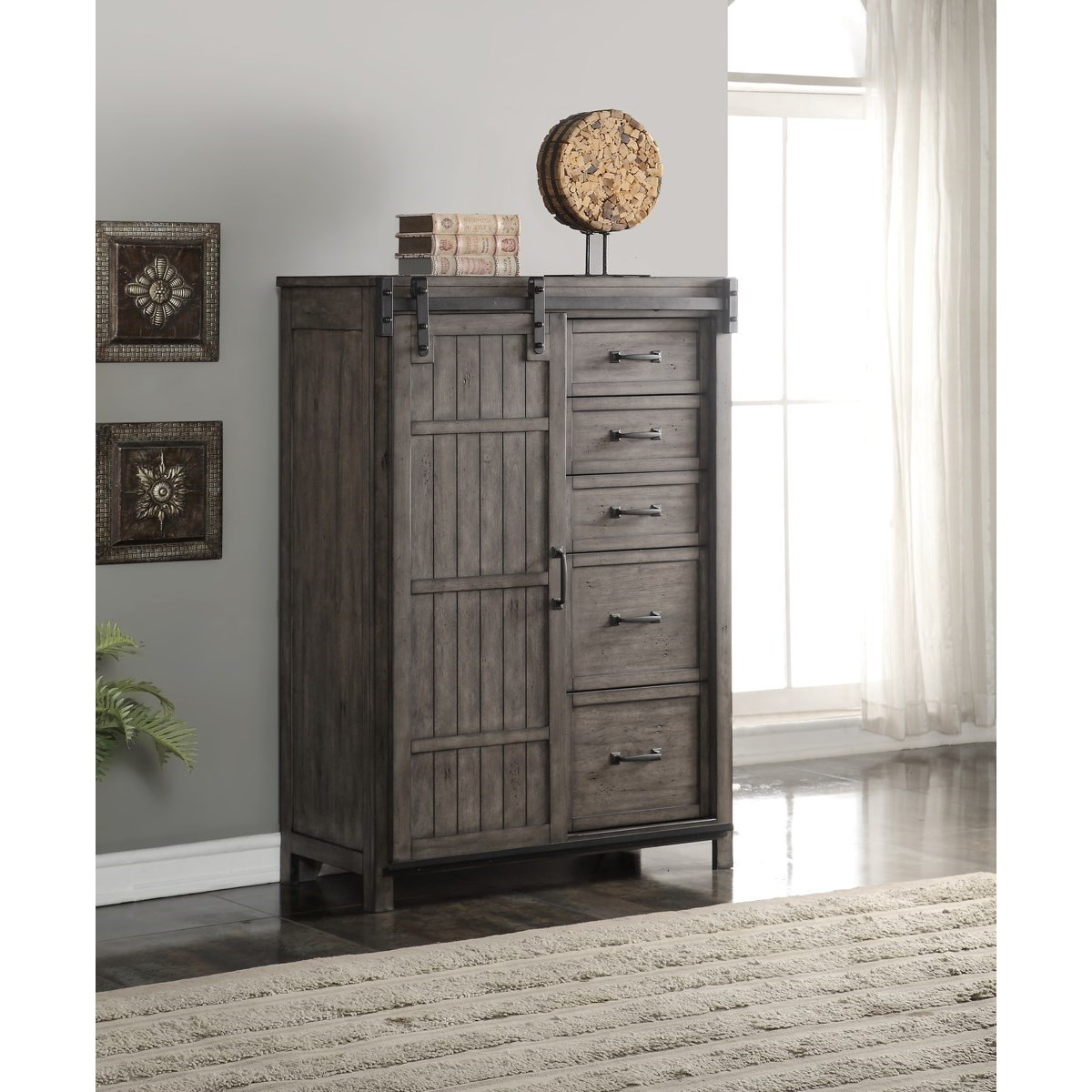 Legends furniture storehouse collection storehouse 5 drawer chest item number zstr 7016