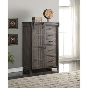Legends Furniture Storehouse Collection Storehouse 5 Drawer Chest