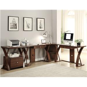 Legends Furniture Super Z L-Shaped Desk Station