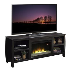 "Vendor 1356 The Curve 69"" Fireplace TV Console"