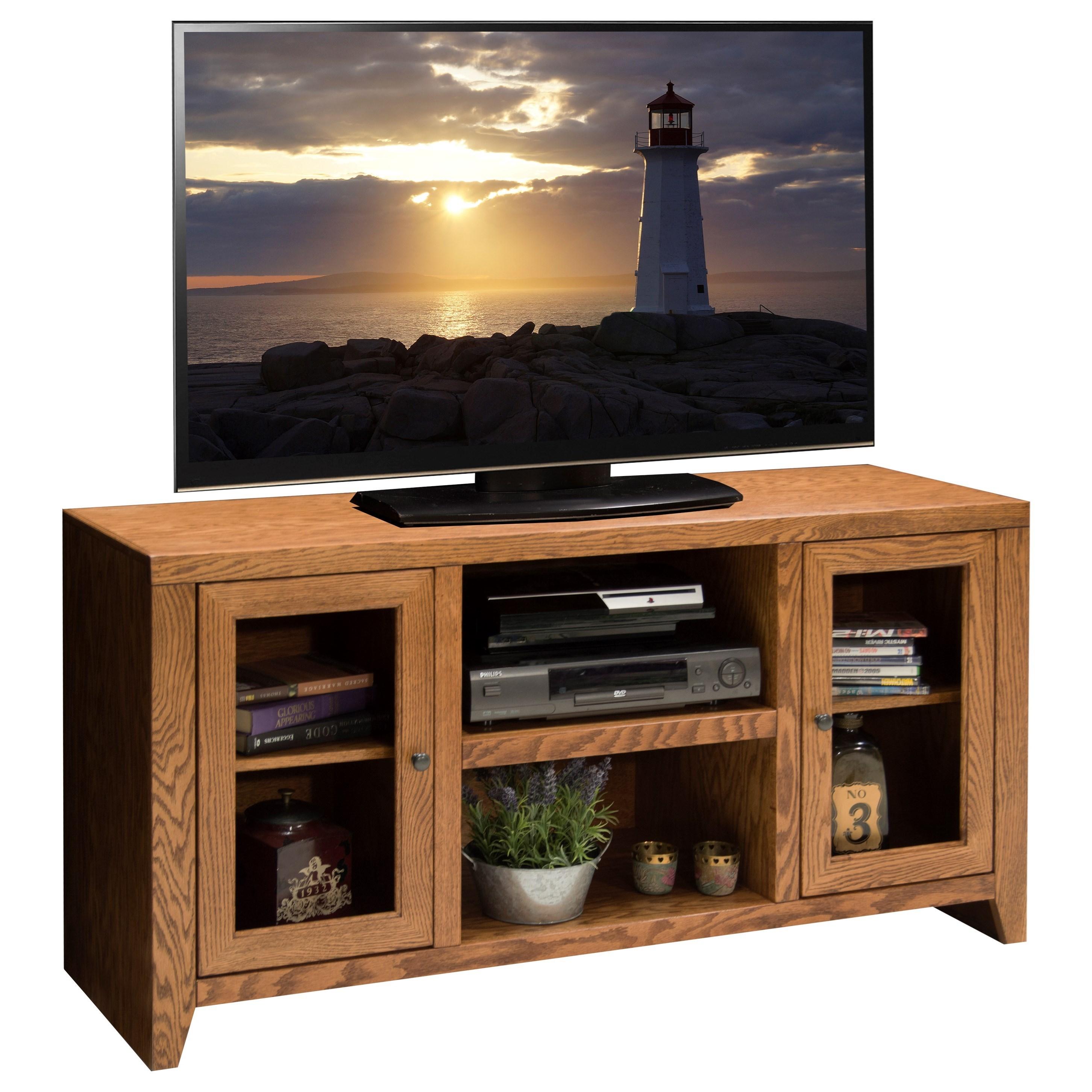 "Legends Furniture City Loft 52"" TV Console - Item Number: CL1227.GDO"