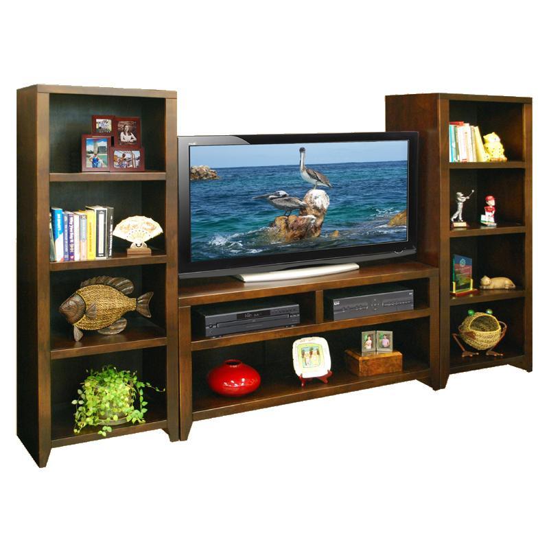 "Legends Furniture Urban Loft 48"" TV Cart & 2 Bookcase Piers - Item Number: UL1208+2xUL3203"
