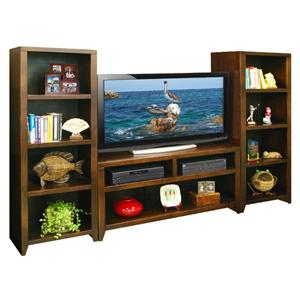"Vendor 1356 Urban Loft 48"" TV Cart & 2 Bookcase Piers"