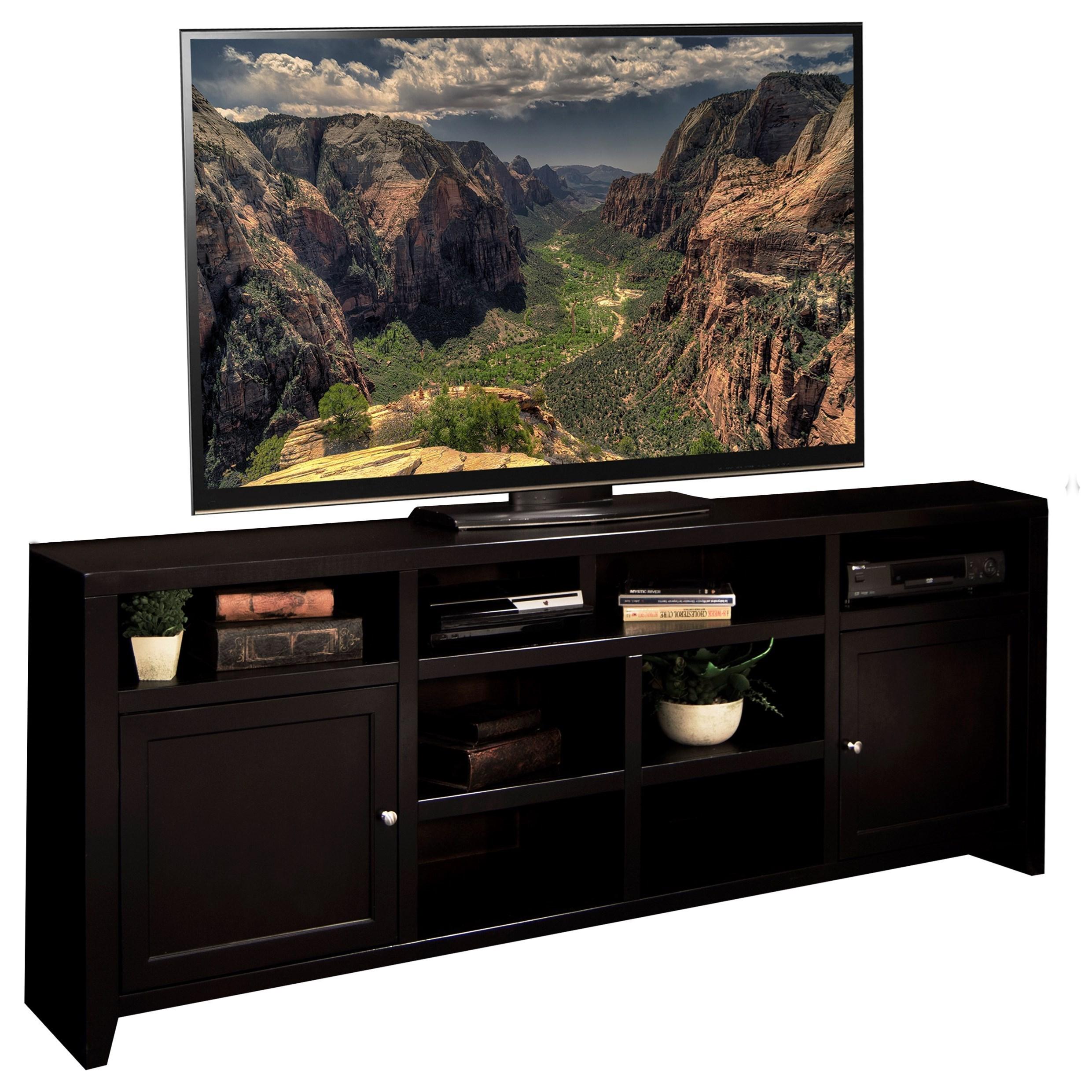 "Legends Furniture Urban Loft 84"" TV Super Console - Item Number: UL1284.MOC"