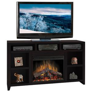 "Legends Furniture Urban Loft 62"" Fireplace Media Center"