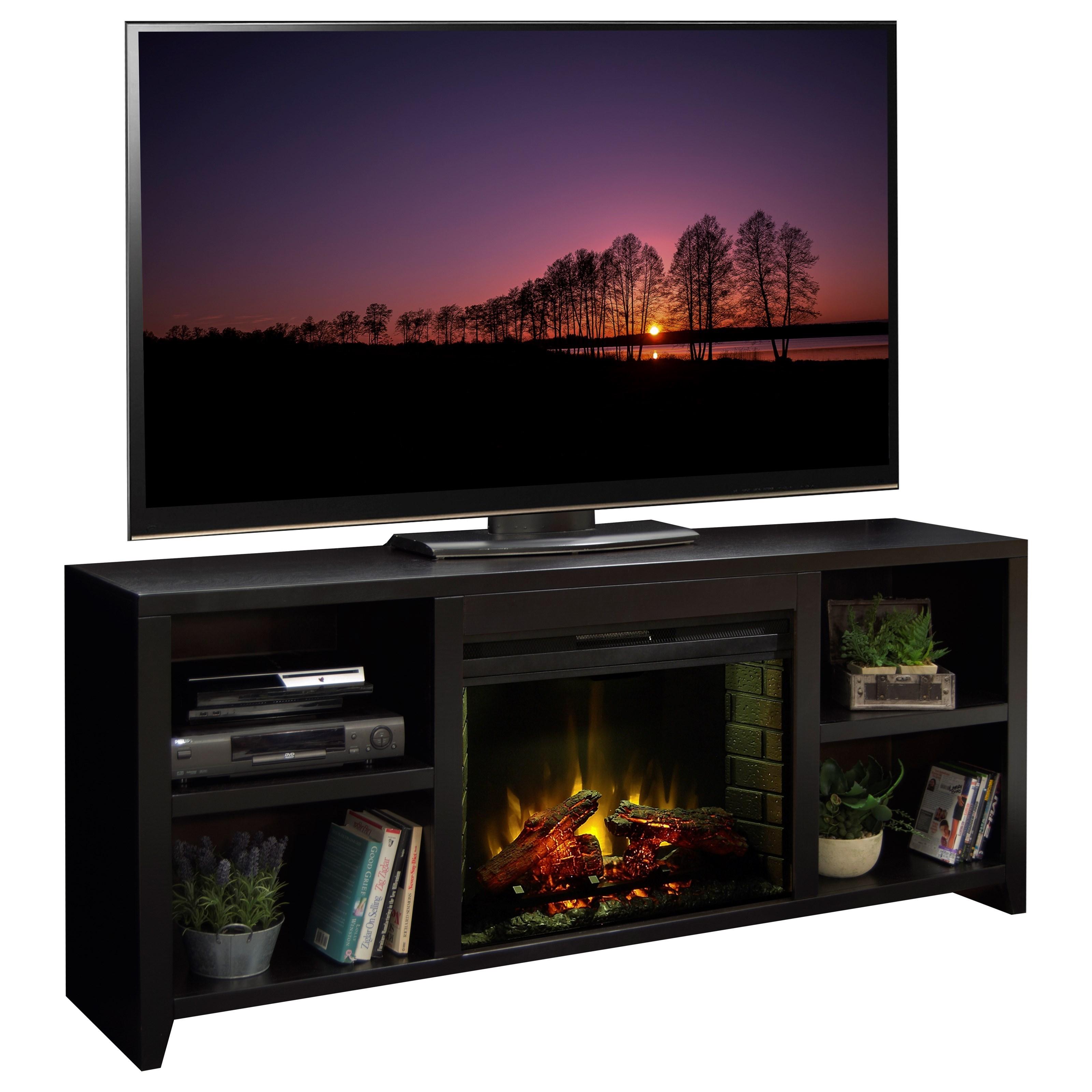 """Legends Furniture Urban Loft 76"""" Fireplace Console - Item Number: UL5103.MOC"""