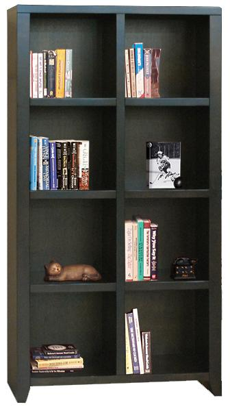 Legends Furniture Urban Loft 8 Cubicle Bookcase - Item Number: UL6202.MOC