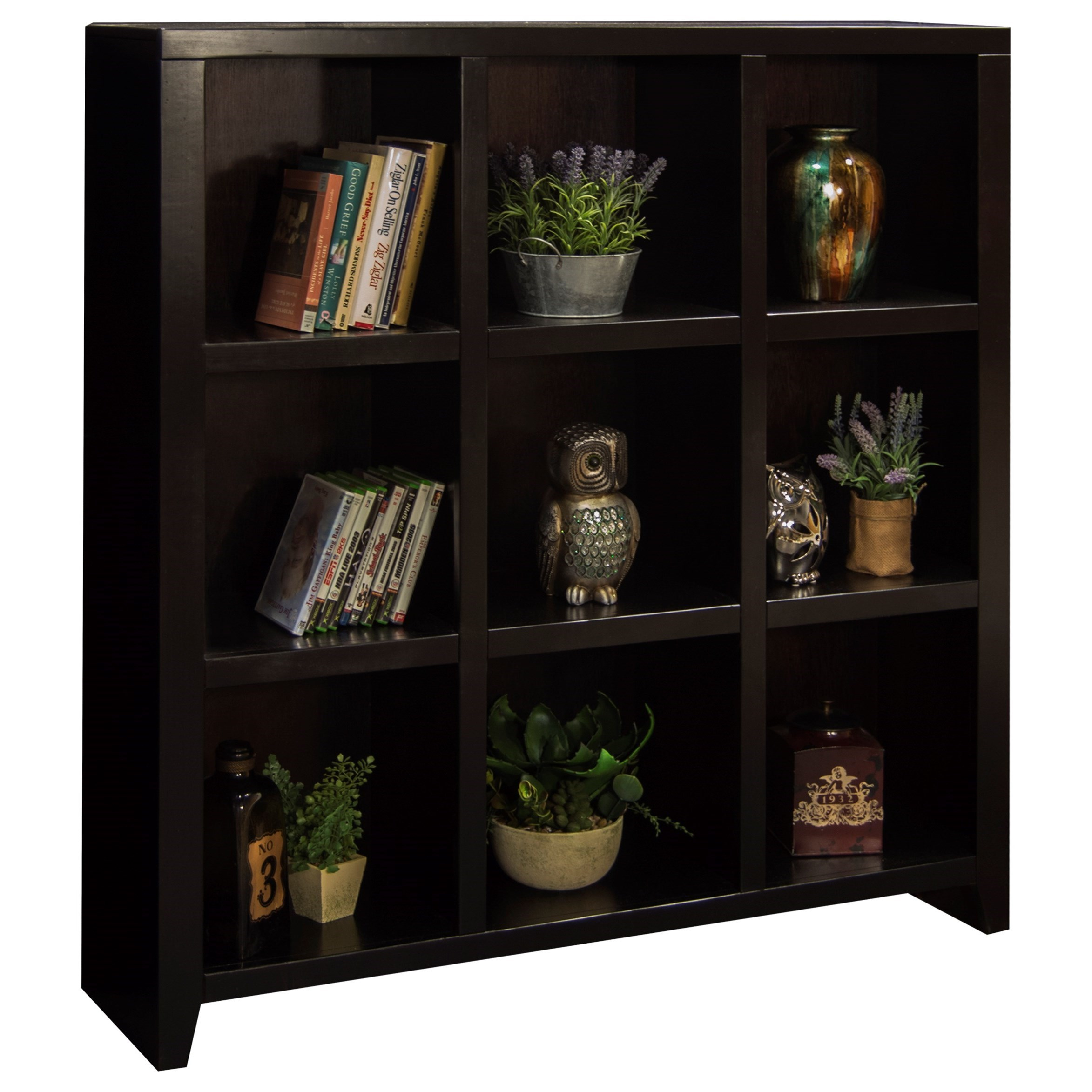 Legends Furniture Urban Loft 9 Cubicle Bookcase - Item Number: UL6203.MOC