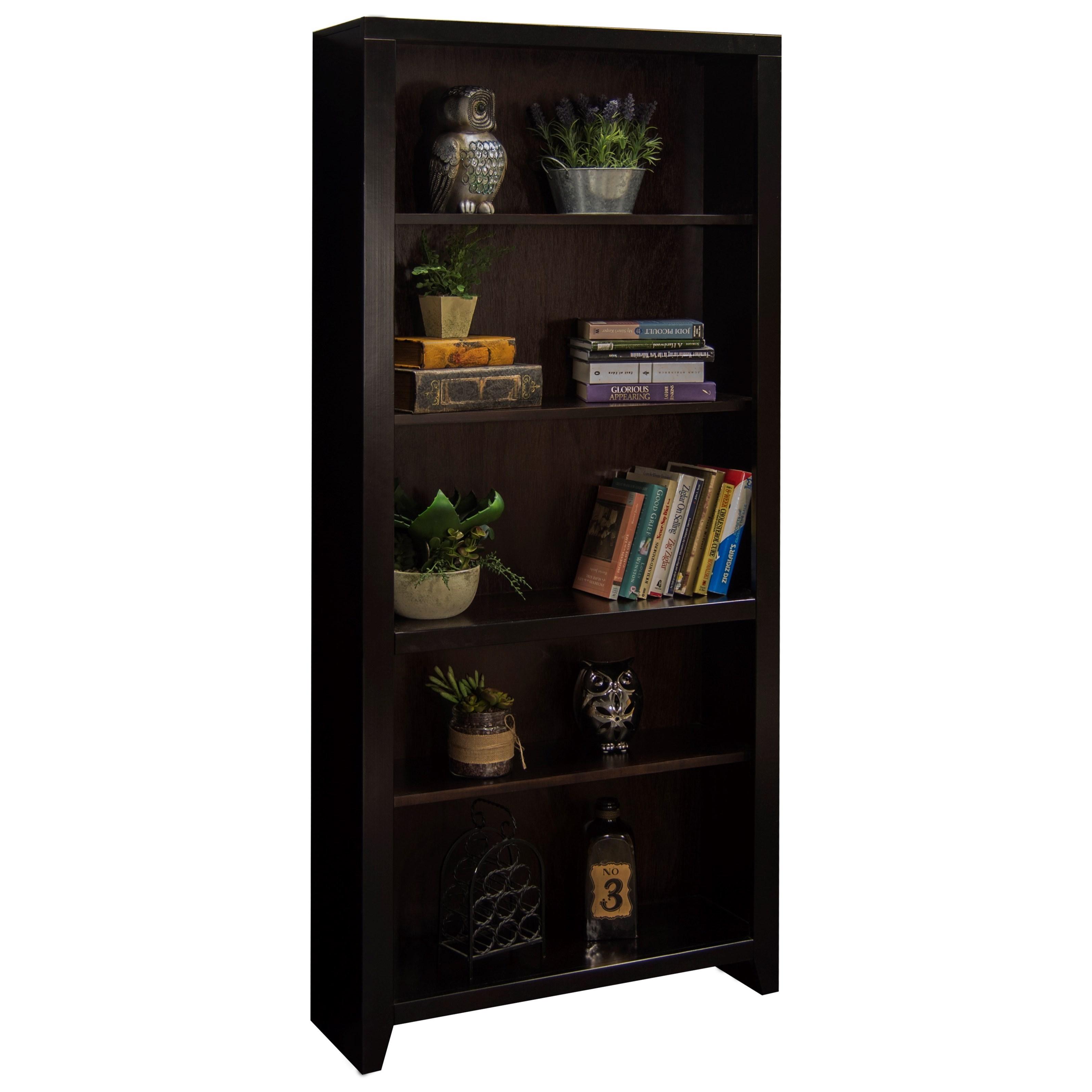 "Legends Furniture Urban Loft 72"" Bookcase - Item Number: UL6672"