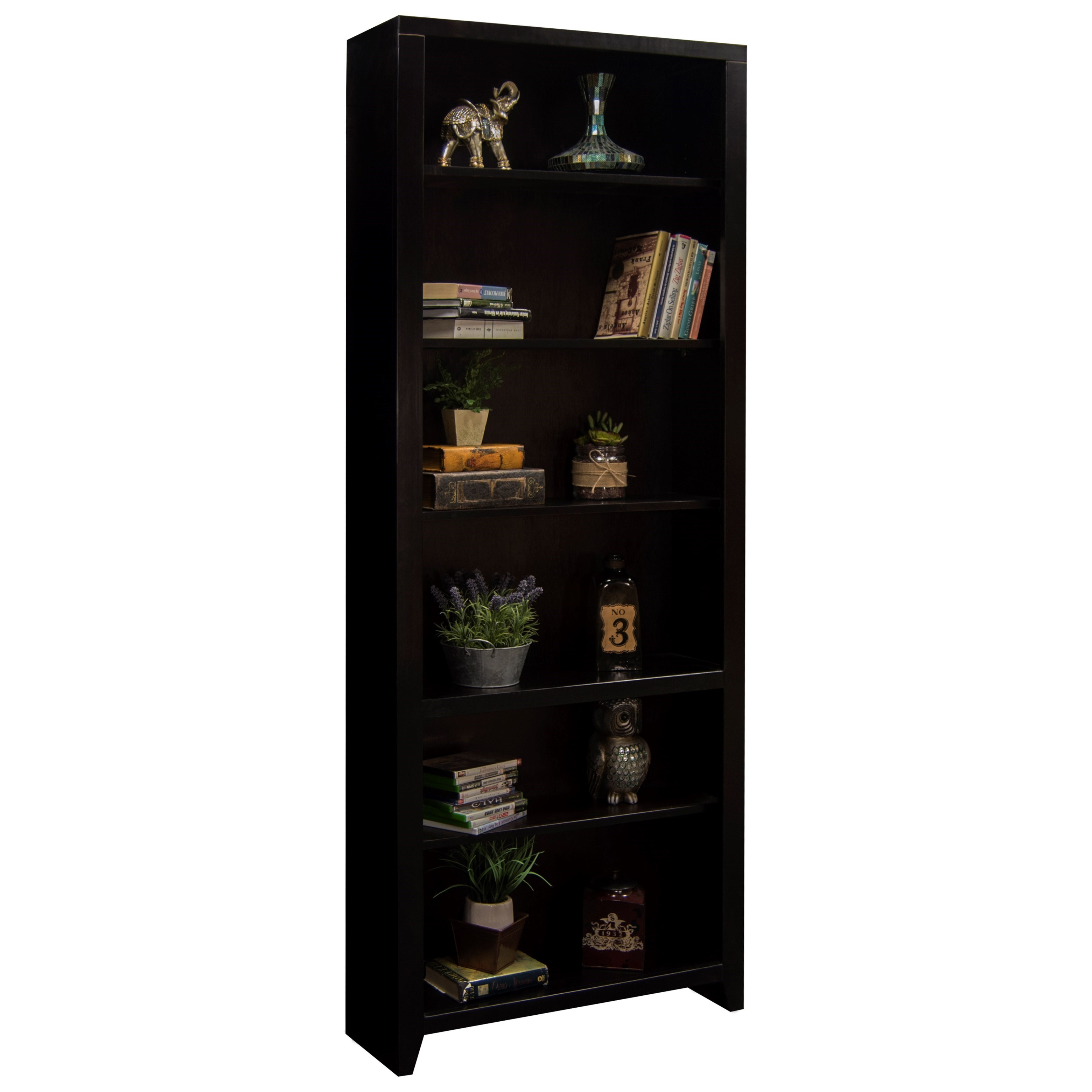 "Legends Furniture Urban Loft 84"" Bookcase - Item Number: UL6684"
