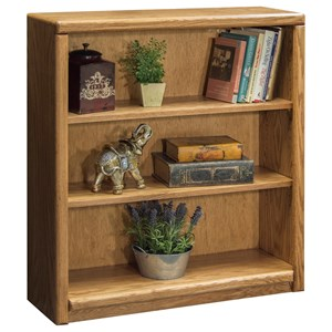Vendor 1356 Contemporary - Value Groups Bookcase With 2 adj. Shelves