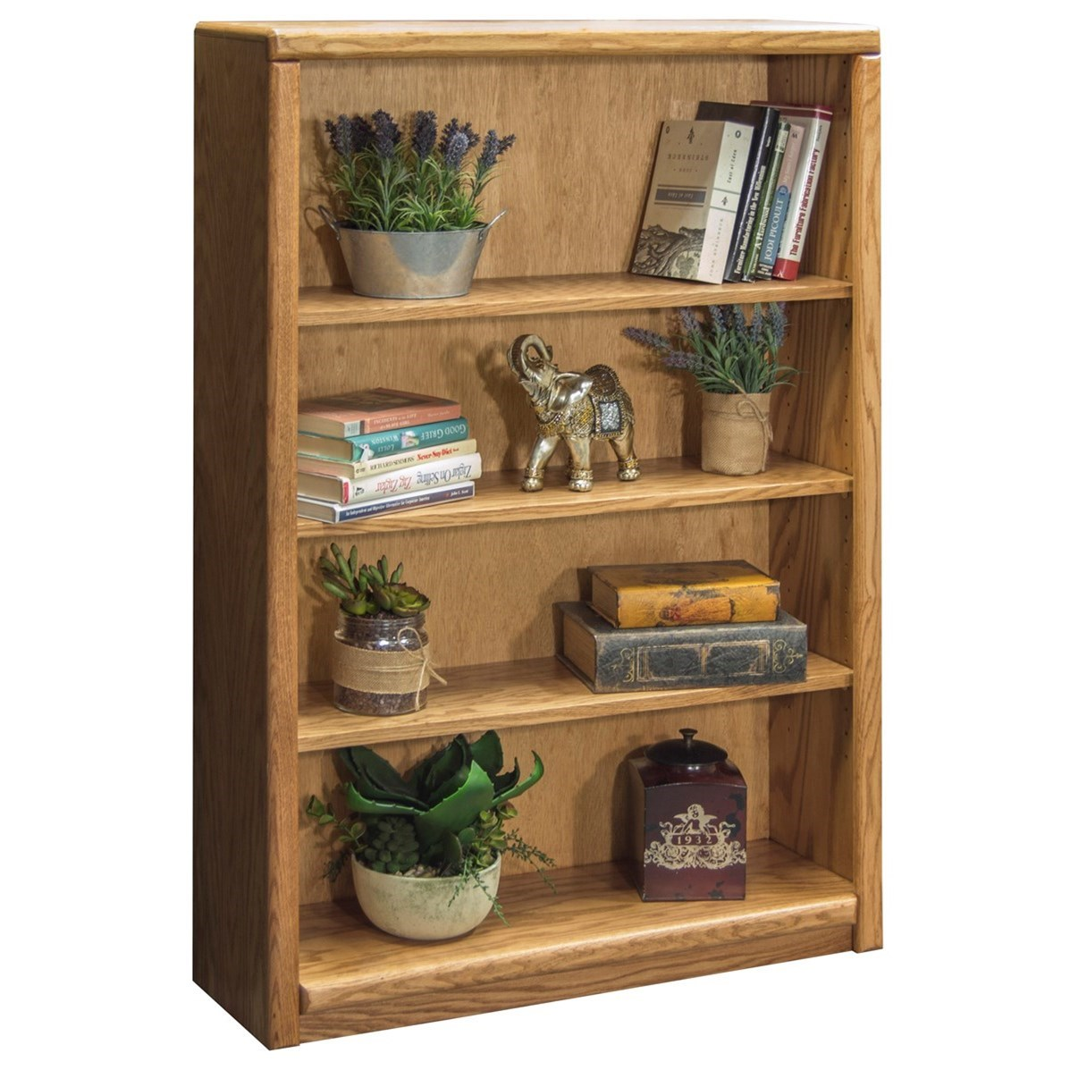 Bookcase With 3 adj. Shelves