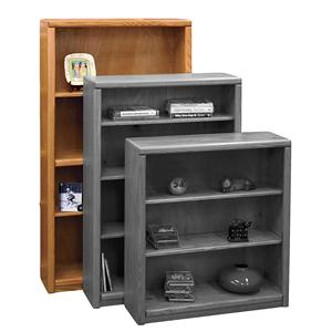 Vendor 1356 Contemporary - Value Groups Bookcase With 1 Fixed & 2 adj. Shelves
