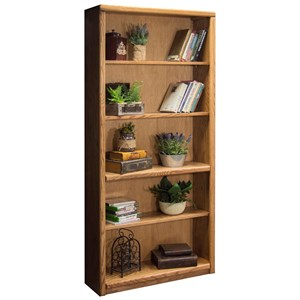 Vendor 1356 Contemporary - Value Groups Bookcase With 1 Fixed & 3 adj. Shelves