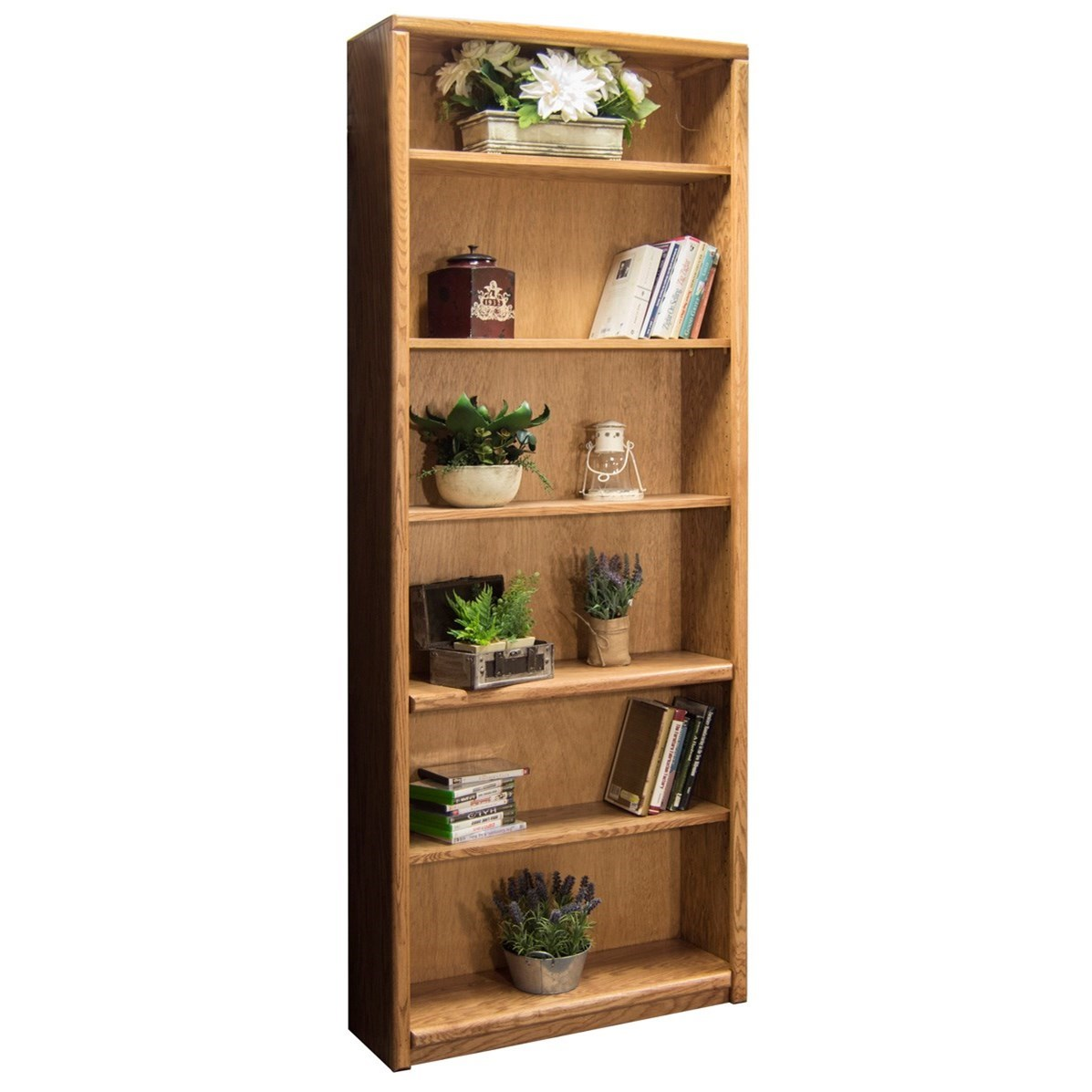 Vendor 1356 Contemporary - Value Groups Bookcase With 1 Fixed & 4 adj. Shelves - Item Number: CC6684