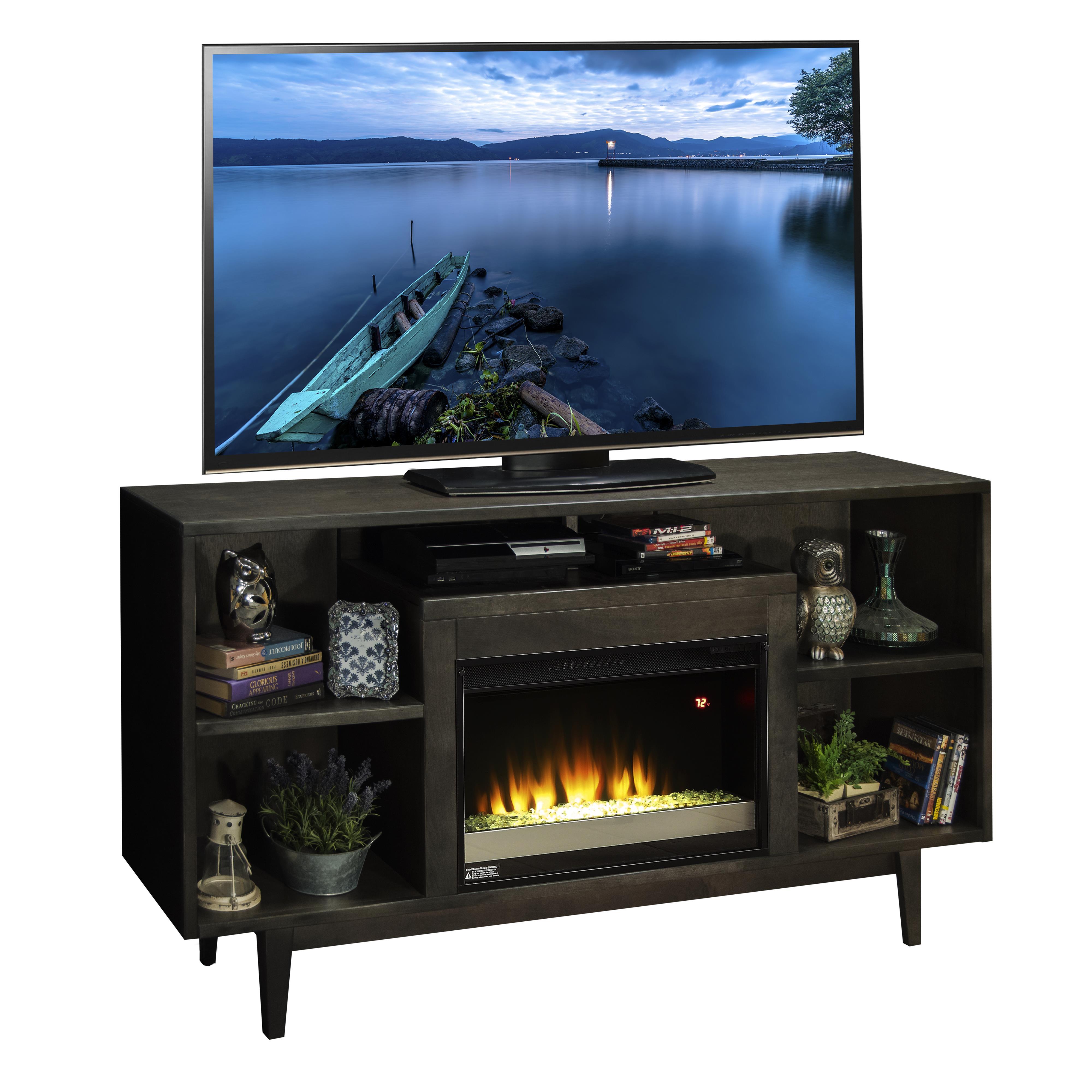 """Legends Furniture Vine 68"""" Fireplace Console - Item Number: VN5201-KIT"""