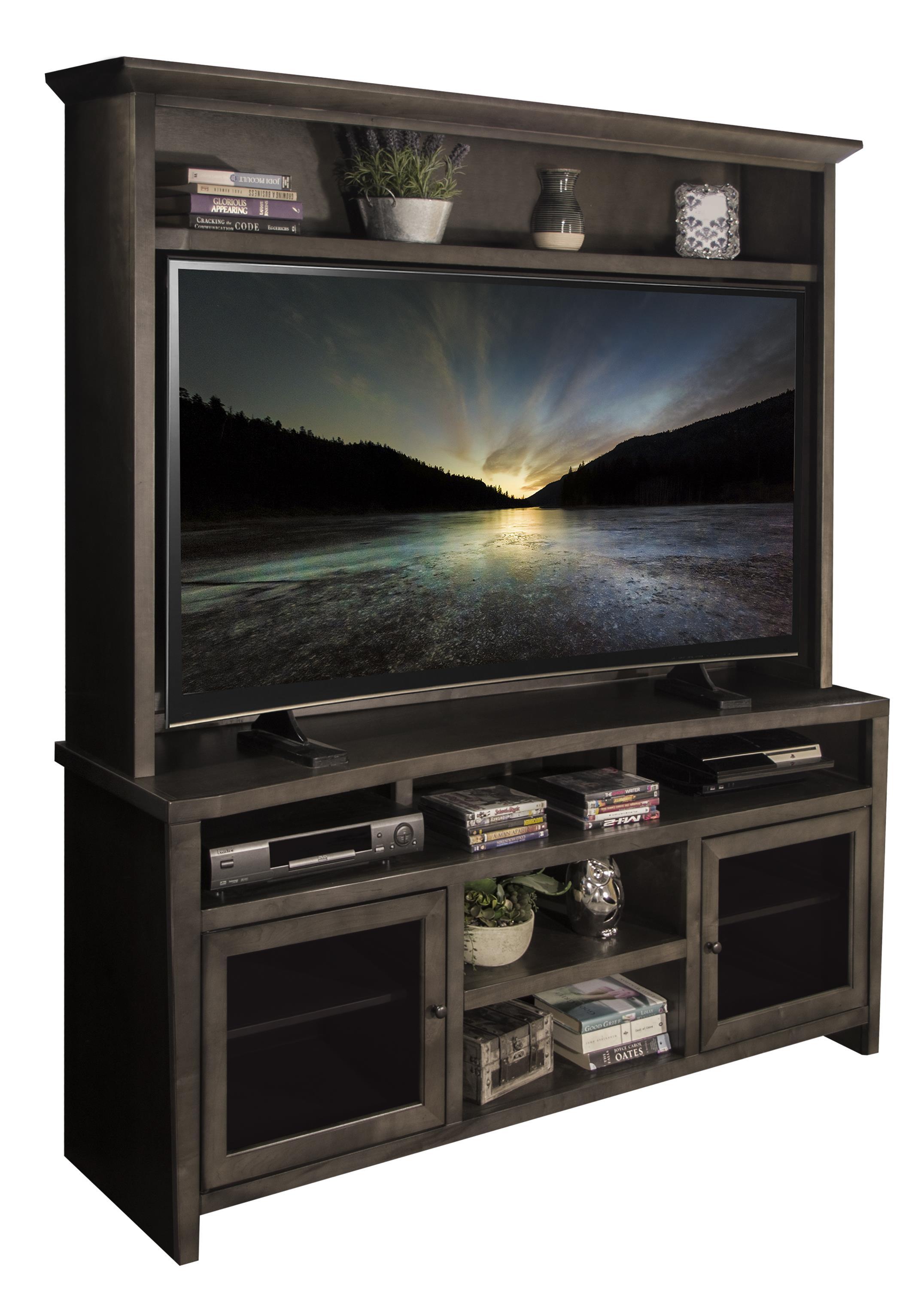 Legends Furniture Vox Collection Console & Hutch - Item Number: VX1565+VX1965-LAT
