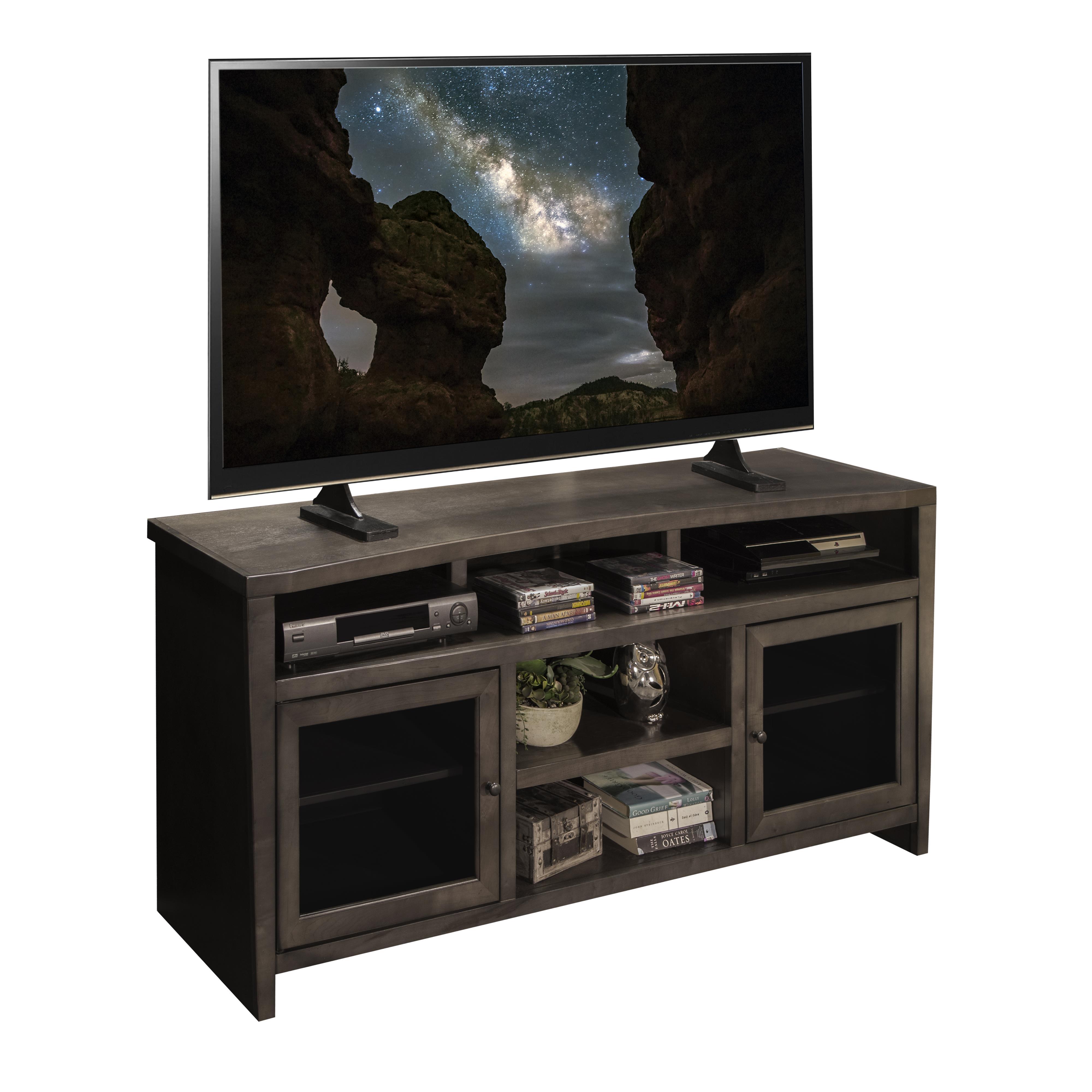 "Legends Furniture Vox Collection Curved 68"" TV Console - Item Number: VX1565-LAT"