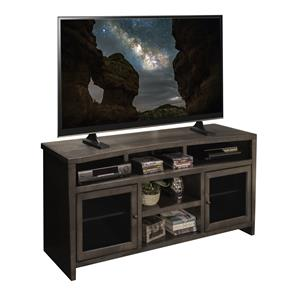 "Vendor 1356 Vox Collection Curved 68"" TV Console"