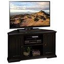 "Legends Furniture Waterton 50"" Corner TV Cart - Item Number: WT1202RBK"
