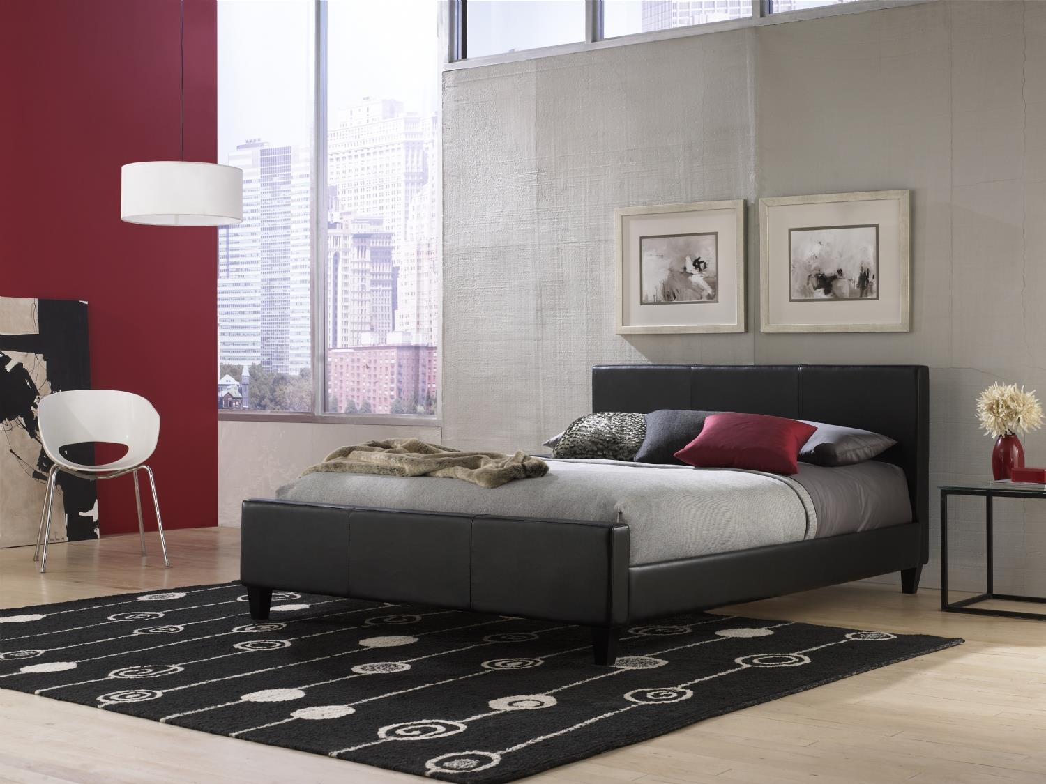 Fashion Bed Group Euro Queen Bed - Item Number: D83227149