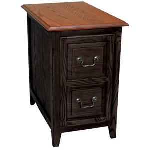 Leick Furniture Favorite Finds Mission Shaker Cabinet End