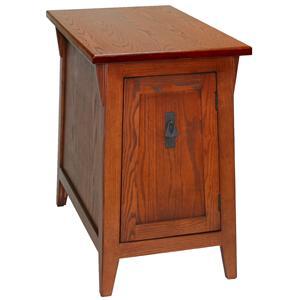 Leick Furniture Favorite Finds Mission Door Cabinet End