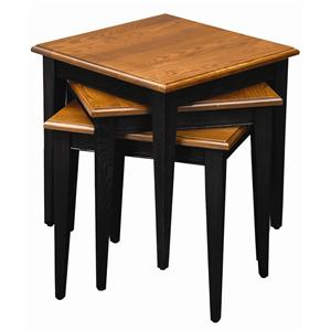 Leick Furniture Favorite Finds Casual Stacking End Tables Set