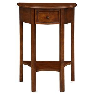 Leick Furniture Favorite Finds Demilune Hall Stand