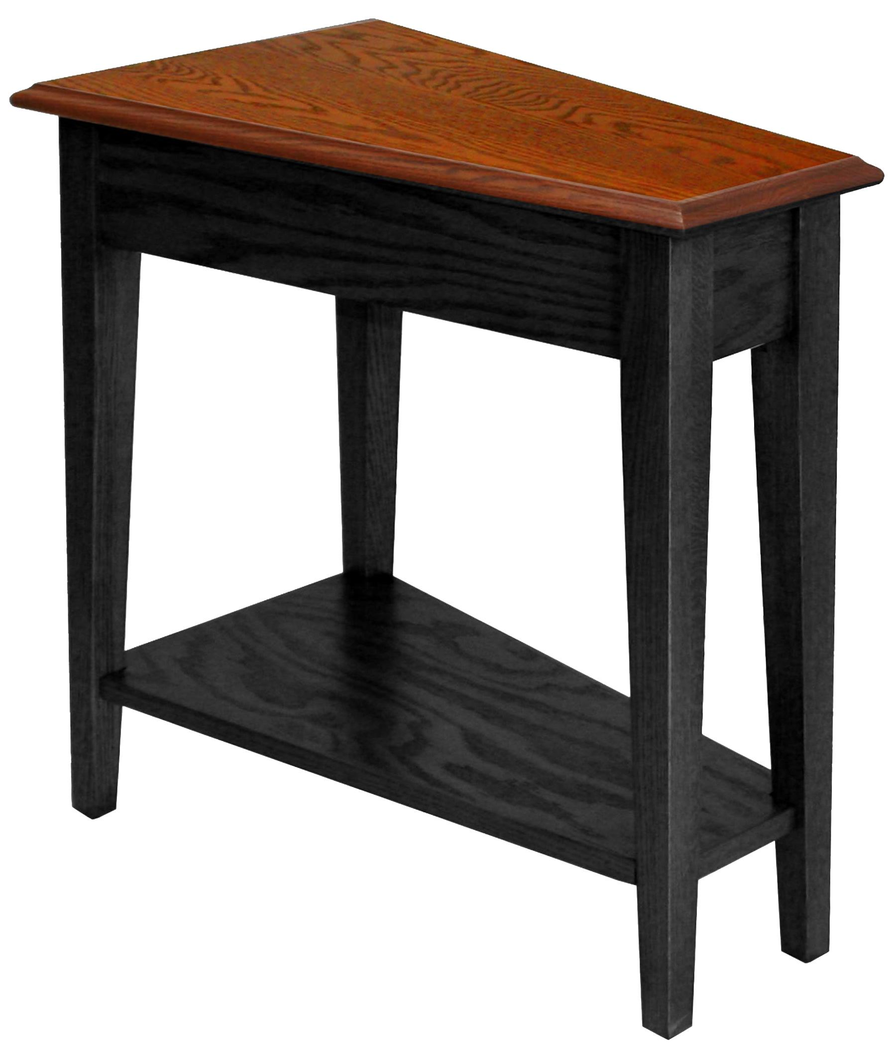 Leick Furniture Favorite Finds Recliner Wedge Table Slate Casual