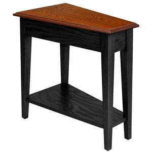 Recliner Wedge Table Slate