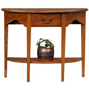 Leick Furniture Favorite Finds Demilune Console