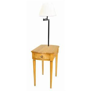 Leick Furniture Favorite Finds Casual Chairside Lamp Table