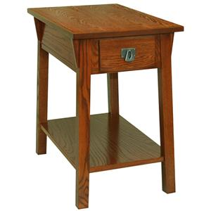 Leick Furniture Favorite Finds Mission Chairside Table