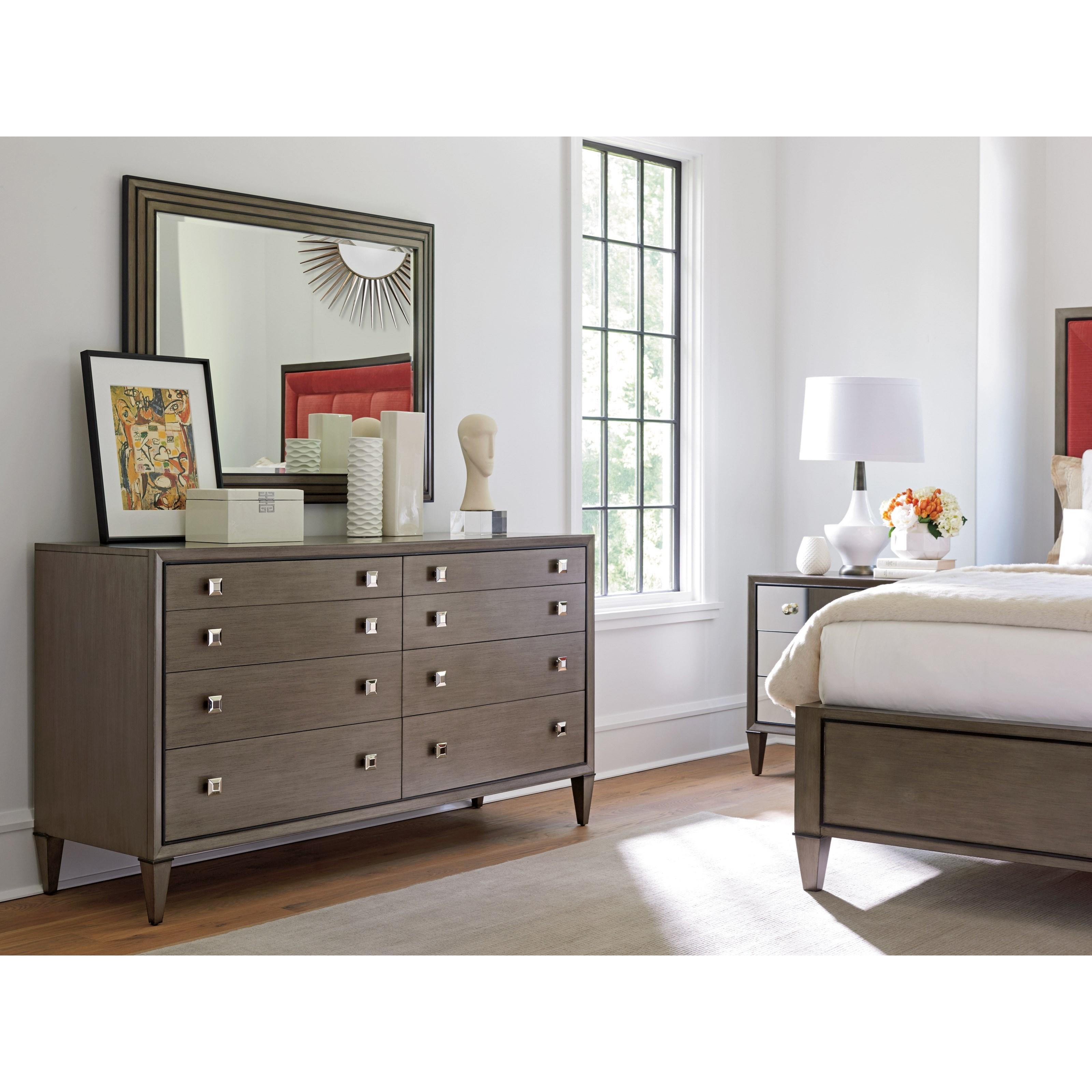 Lexington Ariana 732 222 Touraine Eight Drawer Dresser