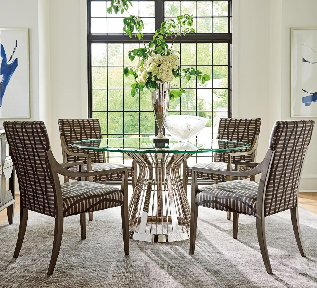 Ariana 5 Pc Dining Set by Lexington at Jacksonville Furniture Mart