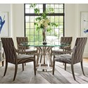 Lexington Ariana 5 Pc Dining Set - Item Number: 732-875-60c+4X732-881