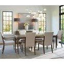 Lexington Ariana 7 Pc Dining Set - Item Number: 732-877+2X732-881-01+4X732-880-01
