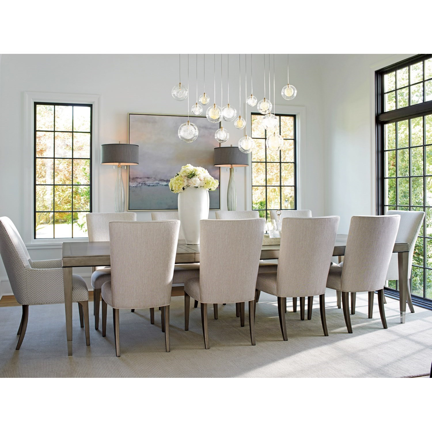 Ariana 11 Pc Dining Set by Lexington at Furniture Fair - North Carolina